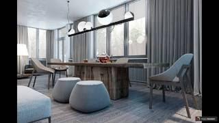видео Дизайн квартир: 40 фото примеров оформления интерьера