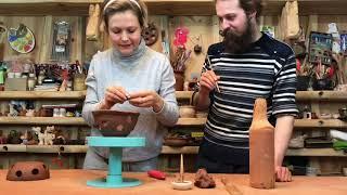 🍯 Ограничитель для крышки Разговор с Эльвирой Болговой Обучение гончарству Волшебство керамики