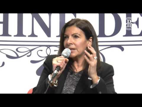 Anne Hidalgo à l'Université Paris Dauphine