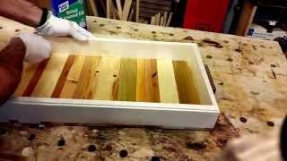 How to make a serving tray--PALLET PROJECT