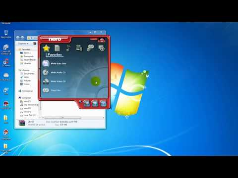 how to copy  and add extra   data on CD   or DVD   with nero software  