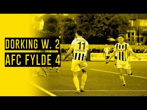 Dorking Fylde Goals And Highlights