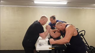 ARMWRESTLING - Norway 4th Strongest 18' vs Norway 6th Strongest 07'