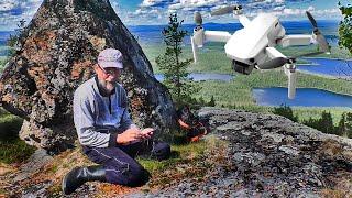 14 Восхождение на Иван гору Чуть не сдуло дрон Видео с квадрокоптера