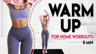 Download WARM UP BEFORE YOUR WORKOUT (full body routine) | 5 minutes