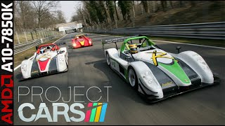 Project CARS 1080p Gameplay - A10 7850K