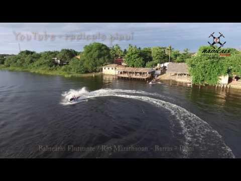 FLUTUANTE - RIO MARATHAOAN / Barras - Piauí