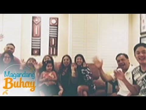 Magandang Buhay: Santos family's surprise birthday greeting for Vilma