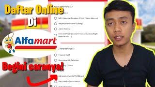 Cara Melamar Kerja Di Alfamart Secara Online Terbaru 2021 Youtube