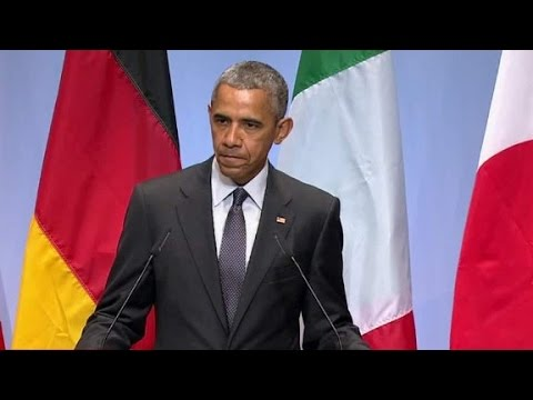 Obama: 'Sanctions against Russia will remain in plac...