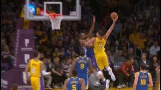 Larry Nance Jr. posterizes Kevin Durant! (DUNK OF THE YEAR)