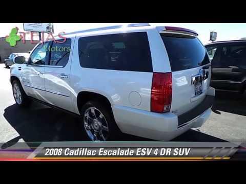 2008 Cadillac Escalade Esv 4 Dr Suv Lubbock Midland