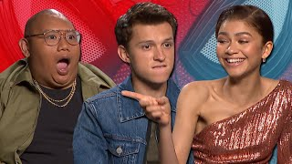 "Tom Holland And Zendaya Discuss ""Serious Romance"" In 'Spider-Man: Far From Home' 