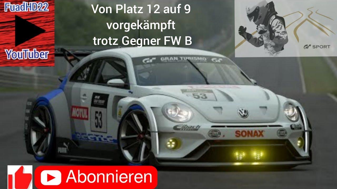 Gran Turismo Sport  PS4 DUALSHOCK Controller Online Rennen, harter Kampf gegen bessere Fahrer