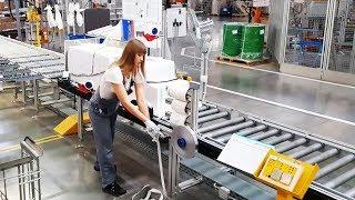 Как делают холодильники Bosch в Питере