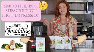 SMOOTHIE BOX SUBSCRIPTION REVIEW & FIRST IMPRESSION |SIRENA GRACE CELES