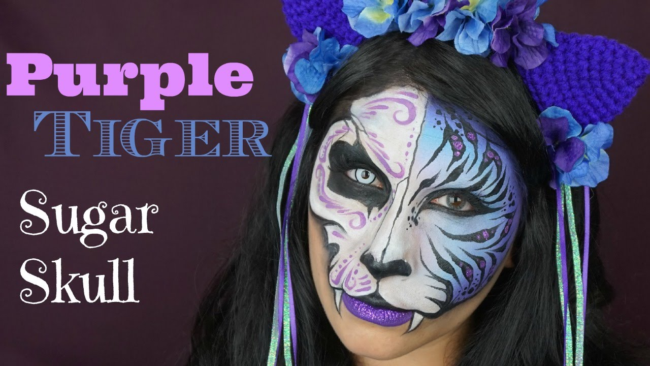 Buy Sugar Purple skull makeup pictures trends