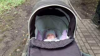 Наша коляска для новорожденного. Обзор на коляску Teutonia (тевтония) be you. Часть -1 люлька