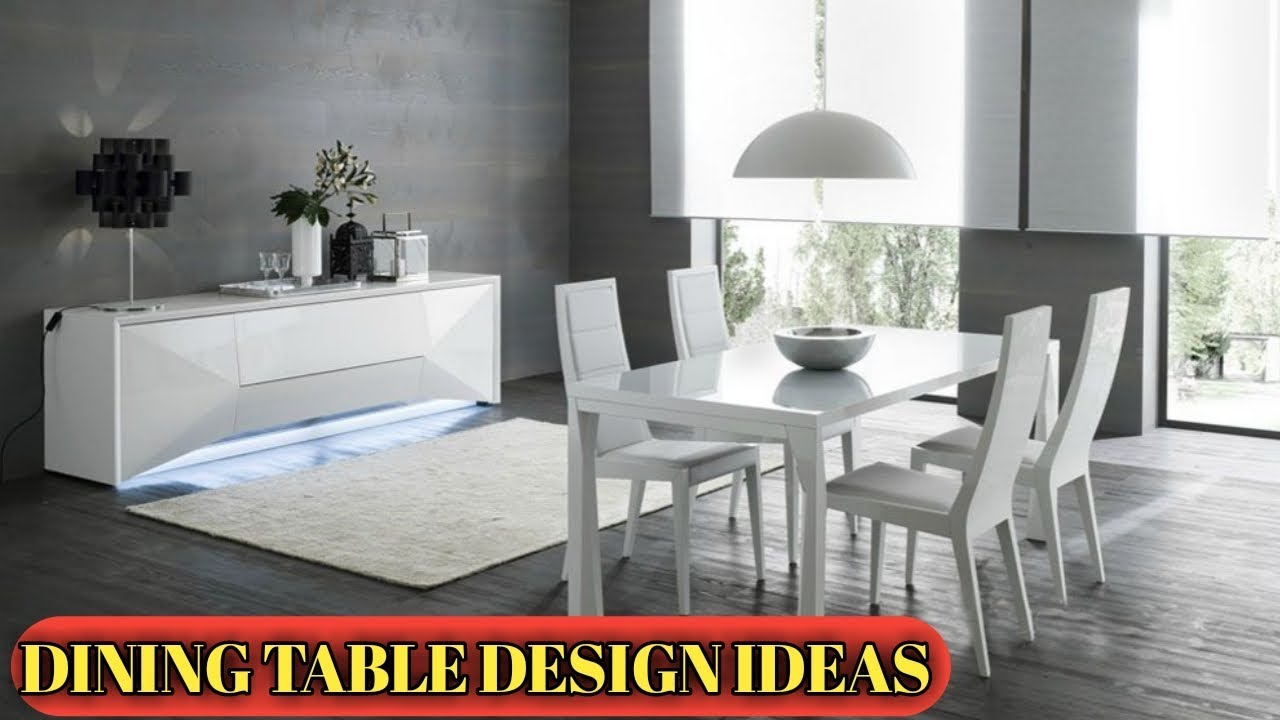 Splendid Modern Dining Room Decor Updates 2019 Design Ideas Youtube