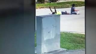 miami police and unarmed man with hands up charles kinsey