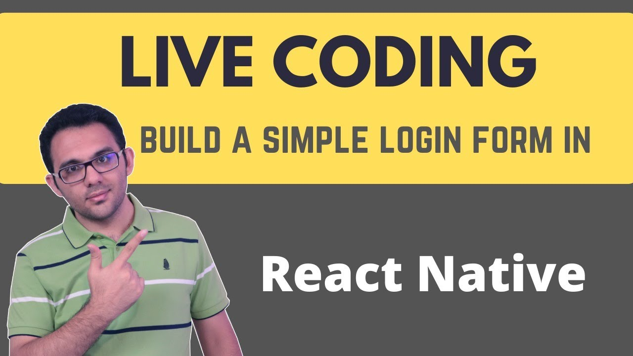 Let's Do Some Live Coding with React Native