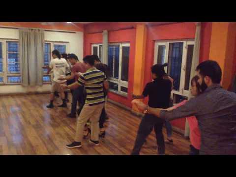 Salsa Nepal - Intermediate Class Combination with instructor Binayek Das Shrestha