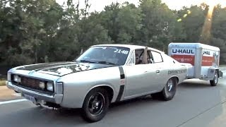 7 Second Australian 1972 Valiant Charger