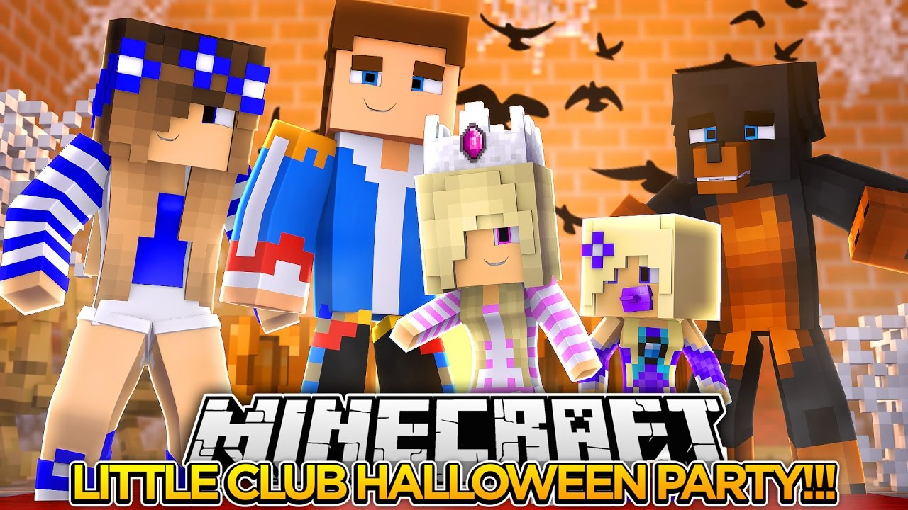 LITTLE CLUB HALLOWEEN PARTY w/ CASSIE THE CAT!!!- Baby Leah ...
