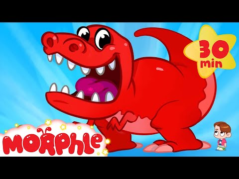 Download Youtube: My Pet T-Rex Goes To School - My Magic Pet Morphle Dinosaur Video for Kids!