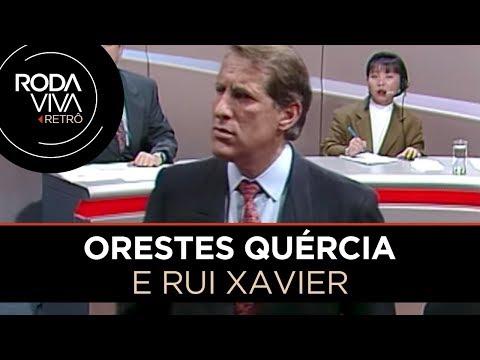 Embate de Rui Xavier com Orestes Quércia na íntegra