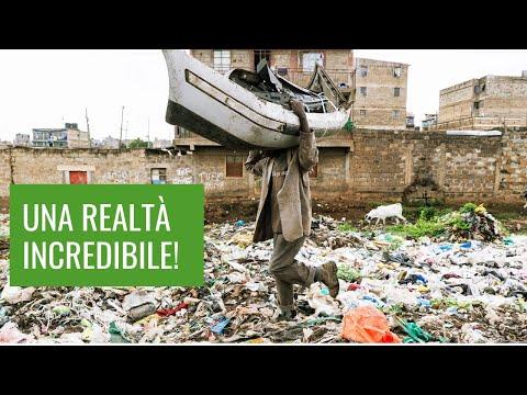 L'incredibile realtà di una discarica africana