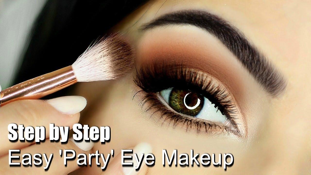 Video Beginners Eye Makeup Tutorial | Parts of the Eye | How To Apply Eyeshadow