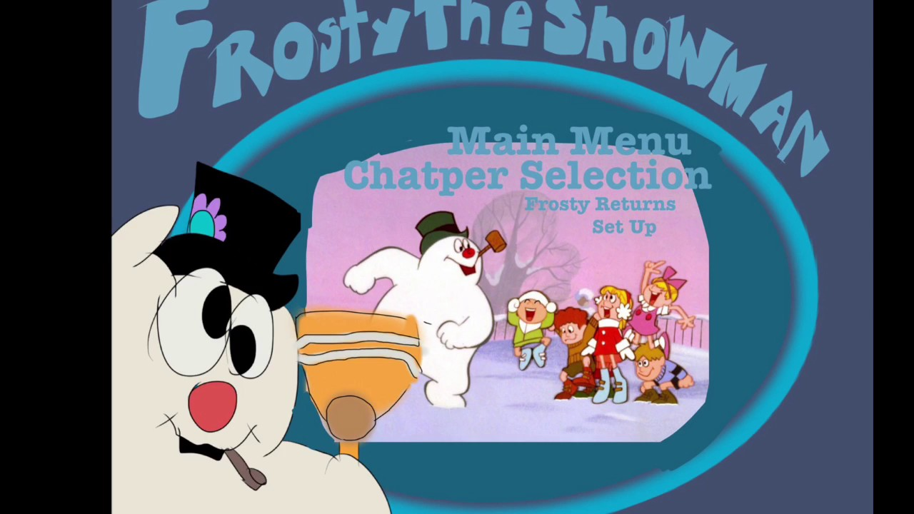 Uncategorized Frosty The Snowman Video frosty the snowman dvd menu english youtube english