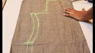 Chudidar Top Cutting& Stitching Tamil(DIY)