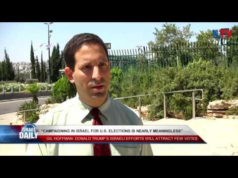 Gil Hoffman, Jerusalem Post Political Reporter - Aug. 25, 2016