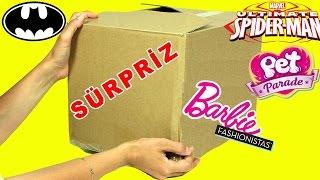 Download Video Barbie Fashionistas Disney Batman Spiderman Sürpriz Oyuncak Kolisi | Evcilik TV MP3 3GP MP4