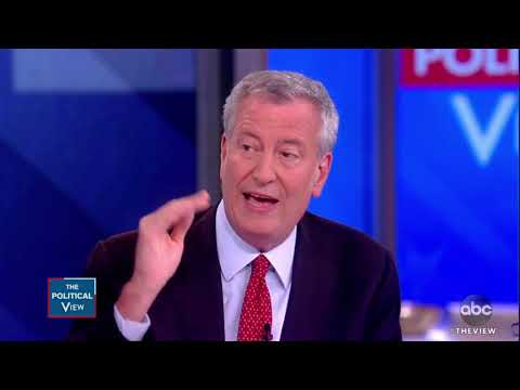 'The View's' Joy Behar Piles on Bill de Blasio for 'Attacking' Obama at Debate