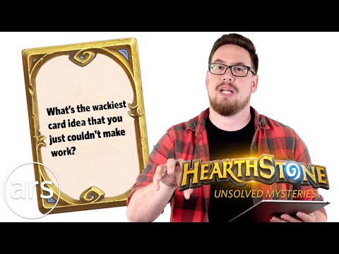 Blizzard's Ben Brode Answers Unsolved Hearthstone Mysteries   Ars Technica