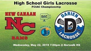 Darien Varsity Girls Lacrosse vs. New Canaan thumbnail