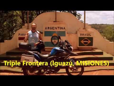 VIAJE A PARAGUAY EN MOTO CORVEN TRIAX 250 TOURING:  BUENOS AIRES - ASUNCIÓN - CIUDAD DEL ESTE