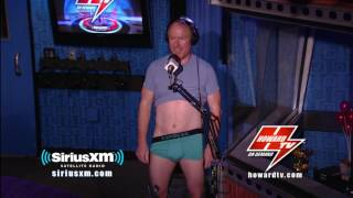 HOWARD STERN: Richard gets his testes tickled with JD's collectible spoons Howard Stern Show 2017