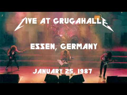 Metallica - Live at Grugahalle, Essen, West Germany (1987) [SBD Audio Only]