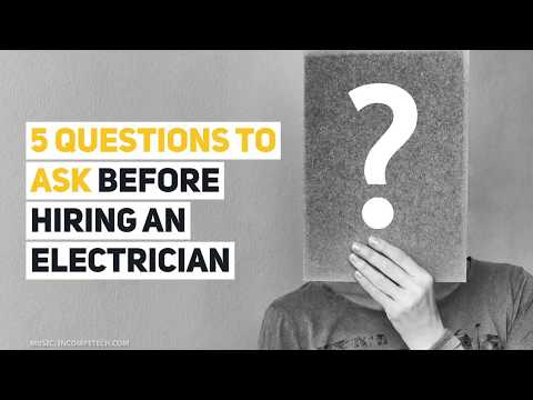 10 Things To Consider Before Hiring An Electrician