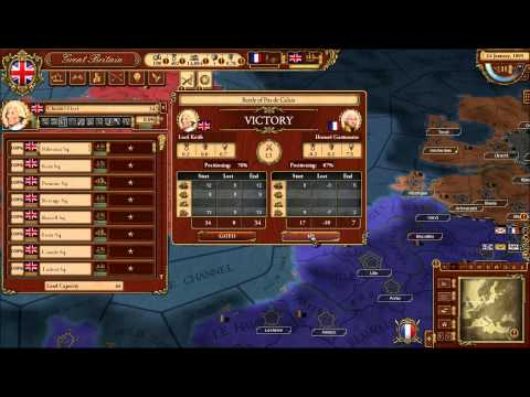 March of the Eagles Part 2: Great Britain- First playthrough |