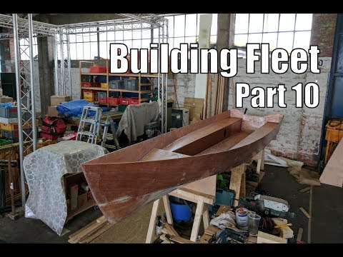 Building Fleet, a small wooden boat #10
