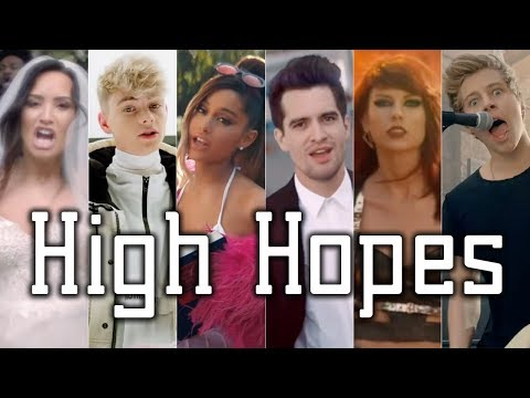 HIGH HOPES  The Megamix ft PATD 5SOS Kendrick Lamar Katy Perry WDW Gabbie Hanna