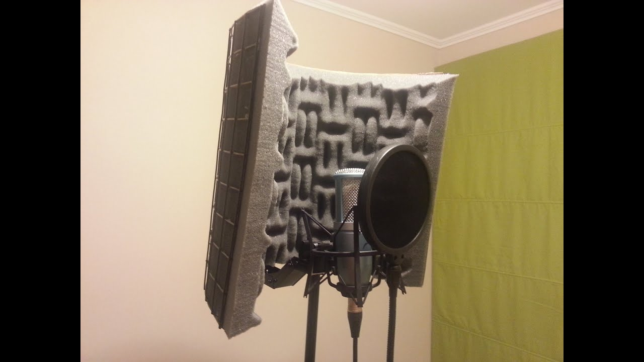 Diy portable vocal booth youtube for Cheapest way to build your own home