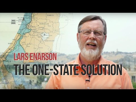 Lars Enarson: The One-State Solution (On the Walls of Jerusalem)