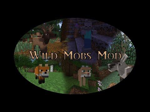 Minecraft   Wild Mobs Mod - YouTube