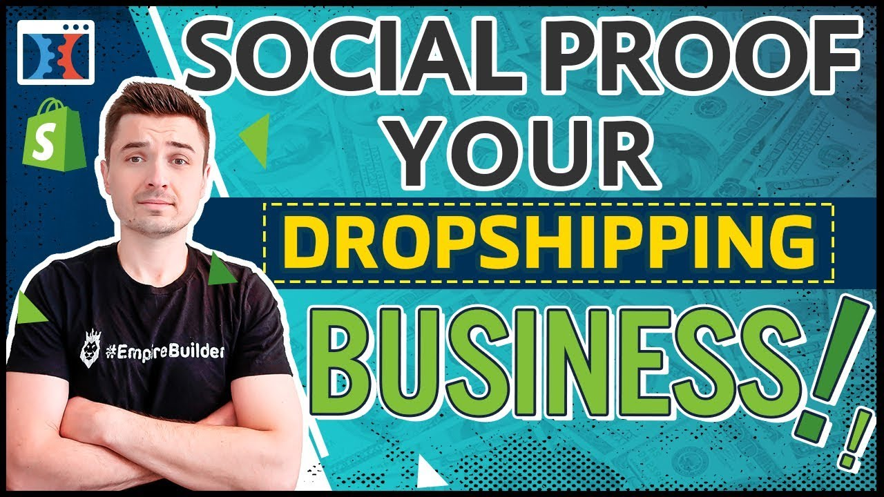 INCREASE CONVERSIONS & SALES BY ADDING SOCIAL PROOF TO YOUR CLICKFUNNELS SHOPIFY DROPSHIPPING ST
